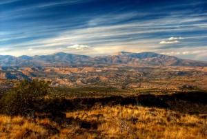 New Mexico landschap